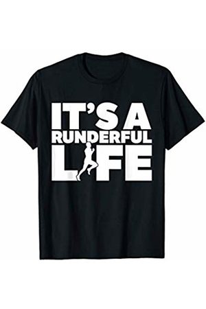 Bowes Fitness It's A Runderful Life Male Runner T-Shirt