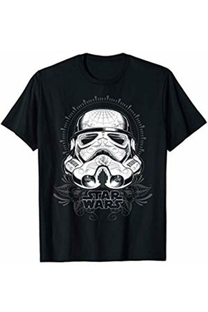 STAR WARS Tattoo Stormtrooper Helmet Graphic T-Shirt
