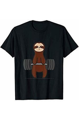 Funny Fitness Funny Sloth Workout Gym T-Shirt Powerlifting Deadlift