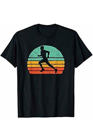 Running Adrenaline Retro Sports Threads Vintage Runner Retro Cross Country Sun Shirt