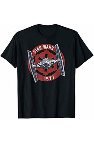 STAR WARS Tie Fighter Imperial 1977 Badge Graphic T-Shirt