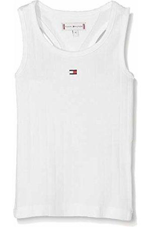 Tommy Hilfiger Baby Girls' Solid Wide Rib Vest (Bright 123)