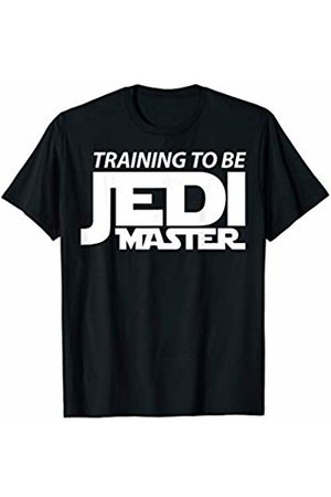 STAR WARS Training To Be Jedi Master Bold Text T-Shirt