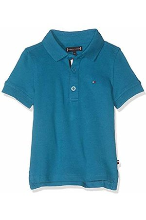 Tommy Hilfiger Baby Boys' Essential Slim Polo S/s Shirt, (Saxony 491)