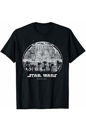 STAR WARS Rogue One Palm Tree Death Star Graphic T-Shirt