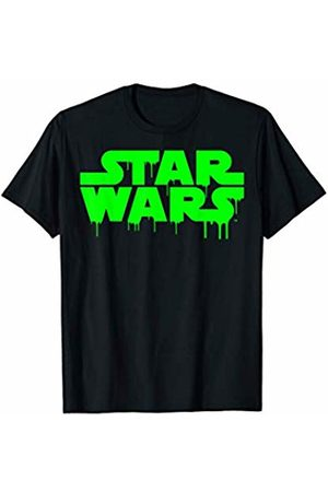 STAR WARS Neon Green Ooze Dripping From Classic Logo T-Shirt