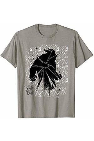 Disney Beauty & The Beast Shattered Doily Graphic T-Shirt