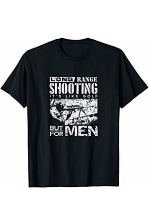 Hold Steady Militia Tee Co Long range Shooting Like golf Funny Veteran Shooter T Shirt
