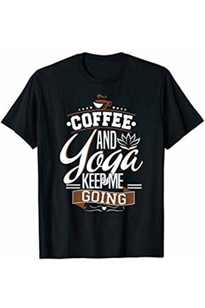 Funny Coffee And Yoga Shirts Clothing & Apparel Coffee And Yoga Keep Me Going Funny Gift Shirt Lover Addict