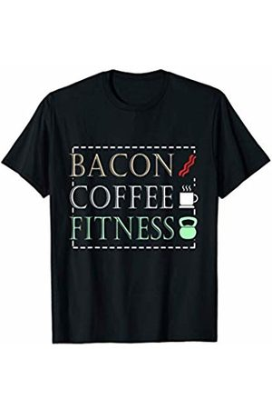 Bacon Coffee Fitness Tee Bacon Coffee Fitness T-Shirt