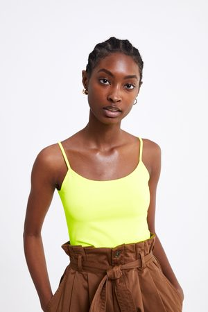 Zara Strappy stretch top