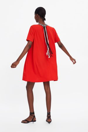 Zara Combined collar dress