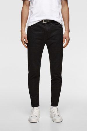 Zara Belted super skinny trousers