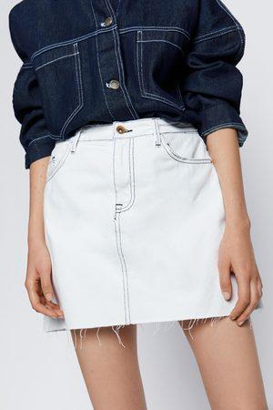 Zara Skirt with contrast stitching