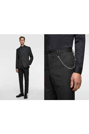 Zara Pinstripe suit trousers