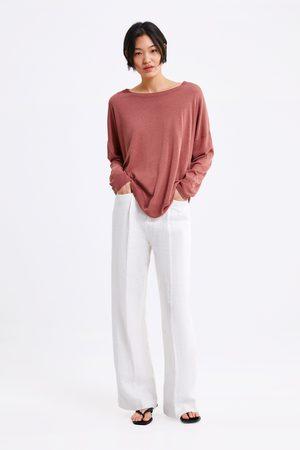 Zara Women Jumpers & Sweaters - Oversized knit sweater