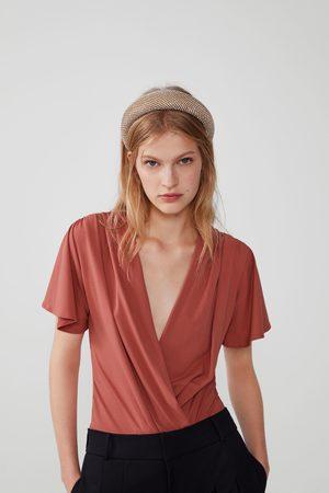 Zara Bodysuit with plunging neckline