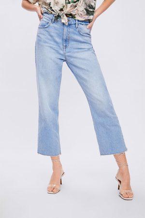 Zara Women Straight - Z1975 straight cropped jeans