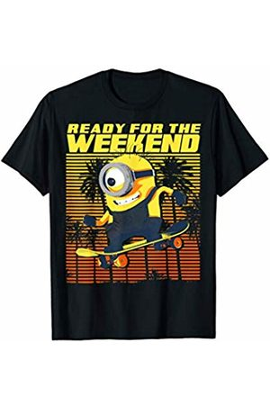 Minions Ready For The Weekend Skateboarding Minion T-Shirt