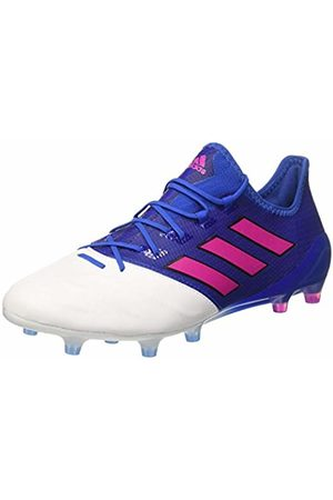 adidas Men's Ace 17.1 Leather Fg for Soccer Training Shoes, Rot/Schwarz (Core Black/Ftwr White/Red)