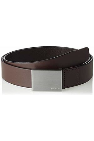 Calvin Klein Men's Formal Plaque Belt 3.5cm