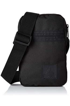 Reebok DM7176 Unisex Adults' Messenger Bag, (Negro)
