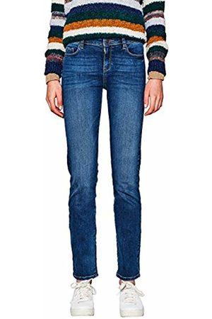 Esprit Women's 997ee1b812 Straight Jeans, ( Medium Wash 902)