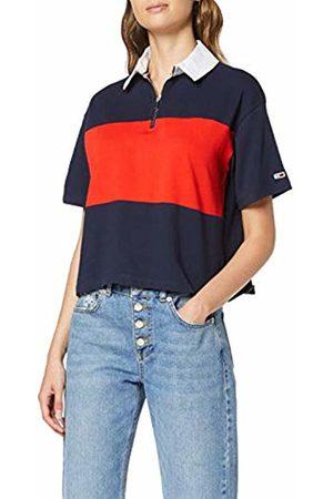 Tommy Hilfiger Women's Tjw Bold Stripe Polo Shirt