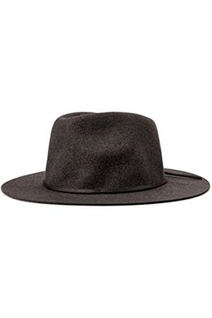 Brixton Men's Wesley Medium Brim Felt Fedora Hat