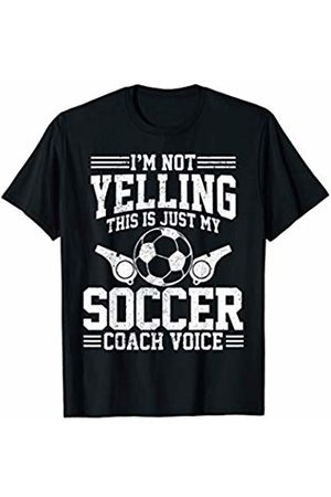 Funny Soccer Coach T-Shirts & Gifts Soccer Coach Voice - Funny Sports Team Training Trainer Gift T-Shirt