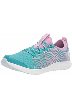 Under Armour Women's Grade School Infinity 2 Competition Running Shoes, Breathtaking /Icelandic Rose/Metallic 300