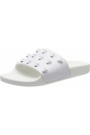 The White Brand Women's Skull Open Toe Sandals