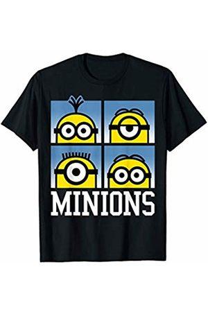 Minions Four Minions Eyes On You T-Shirt