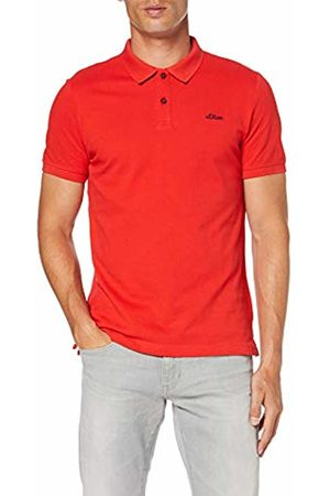 s.Oliver Men's 13.907.35.4586 Polo Shirt, (Synthetic 3110)