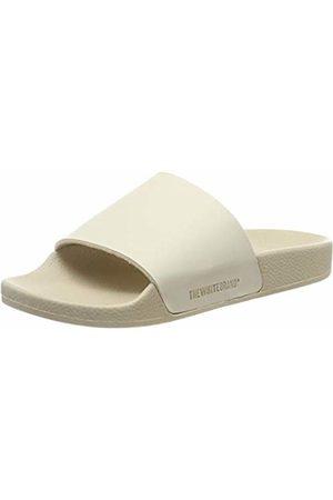 THE WHITE BRAND Women's Minimal Open Toe Sandals, Sand