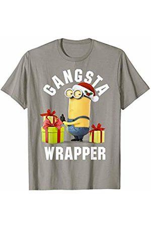 Minions Gangsta Wrapper Santa Minion With Presents T-Shirt