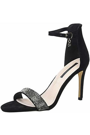 Xti Women's 32044 Sling Back Heels, Negro