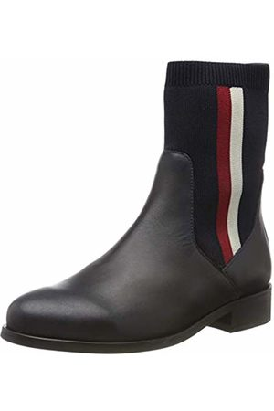 Tommy Hilfiger Women's Knitted Flat Boot Ankle