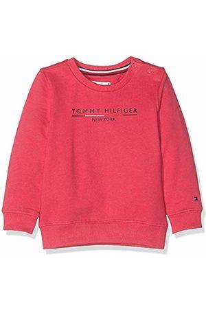 Tommy Hilfiger Baby Girls' Essential Logo Crew Sweatshirt (Virtual 638)