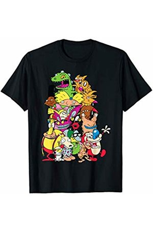 Nickelodeon Full Cast Pile Up On Each Other T-Shirt