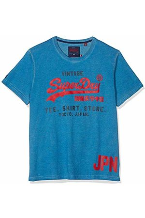 Superdry Men Short Sleeve - Men's Shirt Shop Duo Tee Kniited Tank Top