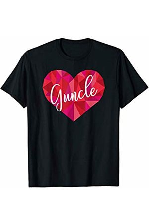 Triple G Mavs Guncle Heart Shirt Low Poly Geometric Gift