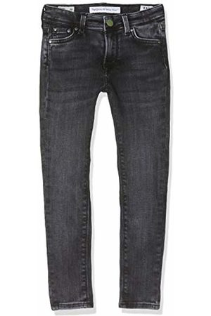 Pepe Jeans Girl's Pixlette High Pg201164 Jeans, ( Wiser Wash Denim Wv9)
