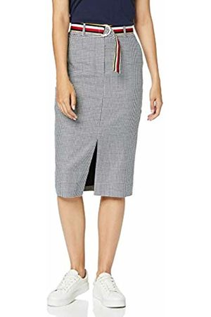 Tommy Hilfiger Women's Rosalia Hw Pencil Skirt, (Mini Dogstooth/Sky Captain 476)