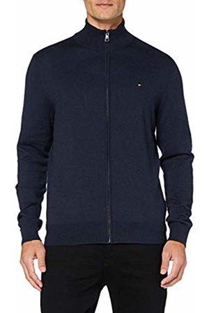 Tommy Hilfiger Men's Organic Cotton Silk Zip Through Sweatshirt