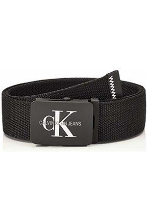 Calvin Klein Men's J 4cm Adj.monogram Canvas Belt 001)