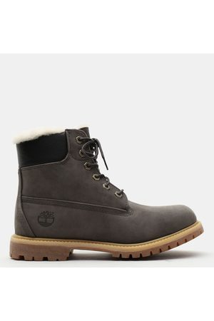 Timberland Women Ankle Boots - Premium 6 inch boot for women in dark , size 3.5