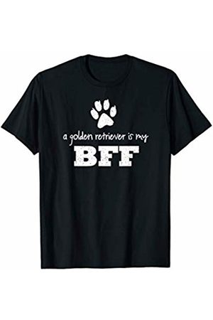 Dog or Puppy Breeds Lovers Shirts A Golden Retriever Is My BFF