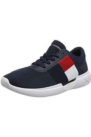 Tommy Hilfiger Men's Lightweight Runner Flag Knit Low-Top Sneakers