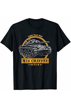 Military Vehicle Tees M24 Chaffee WW2 Tank T-Shirt